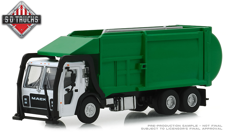 45060-C - Greenlight Diecast 2019 Mack LR Front Load Refuse Truck