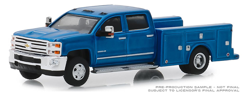 46010-B - Greenlight Diecast 2018 Chevrolet Silverado 3500 Dually Service Bed