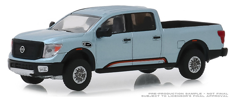 47040-F - Greenlight Diecast 2018 Nissan Titan XD Pro 4X Warrior