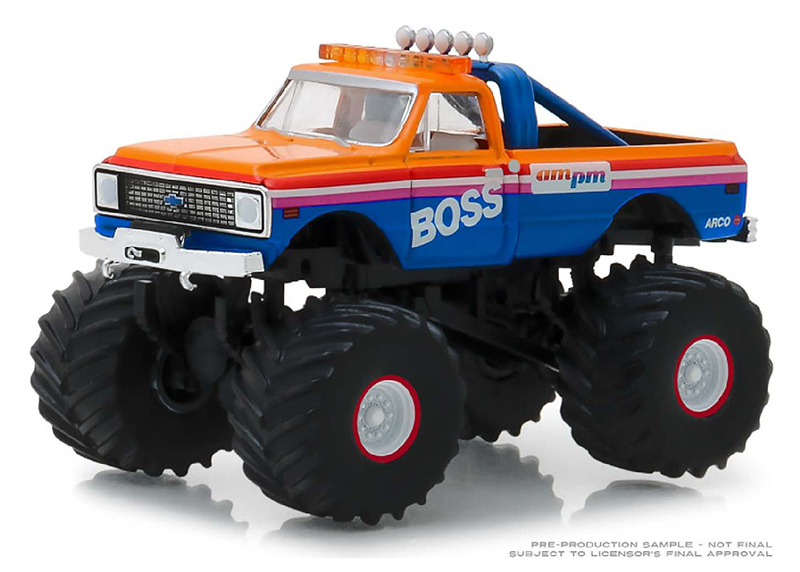 49030-B - Greenlight Diecast AM_PM Boss 1972 Chevrolet K 10 Monster