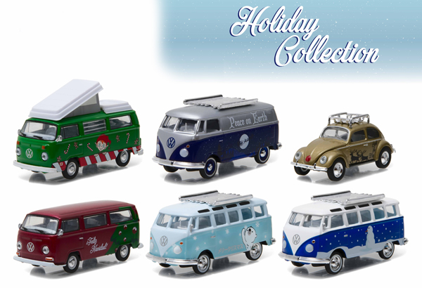51077-CASE - GreenLight Holiday Collection Six Piece SET