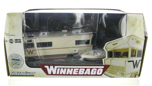 51082-SP - Greenlight Diecast 1973 Winnebago Chieftain RV