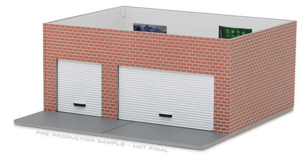 57023 - GreenLight Collector Man Cave Weekend Workshop Diorama