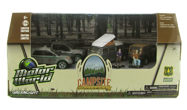 58031-SP - Greenlight US Forest Service Camping Cruisers Diorama