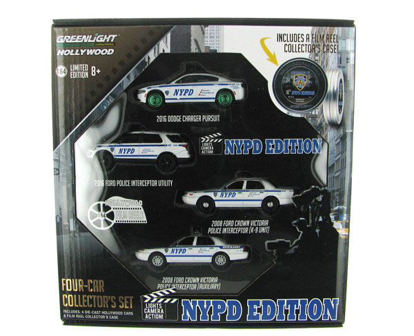 59050-B-SP - Greenlight Hollywood Film Reels Series 5 NYPD