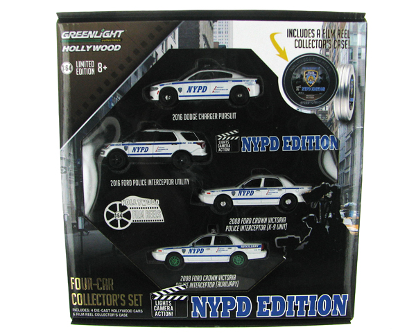 59050-B-SP2 - Greenlight Diecast Hollywood Film Reels Series 5 NYPD Behind