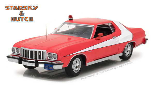 84042 - Greenlight 1976 Ford Gran Torino Starsky and