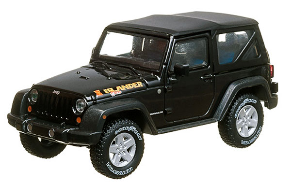 86048 - Greenlight 2010 Jeep Wrangler Islander