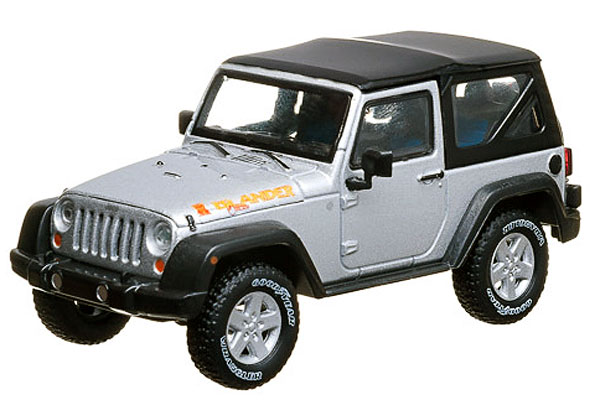 86049 - Greenlight 2010 Jeep Wrangler Islander Bright Metallic