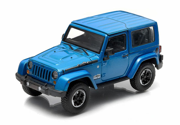 86054 - Greenlight 2014 Jeep Wrangler Polar Limited Edition
