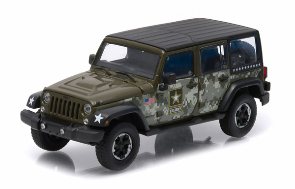 86068 - Greenlight US Army 2014 Jeep Wrangler Unlimited