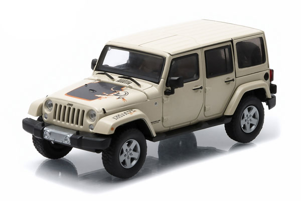 86073 - Greenlight 2011 Jeep Wrangler Unlimited Mojave Edition