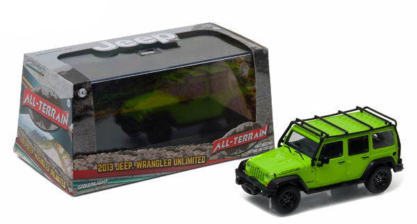 86078 - Greenlight 2013 Jeep Wrangler Unlimited Moab Edition