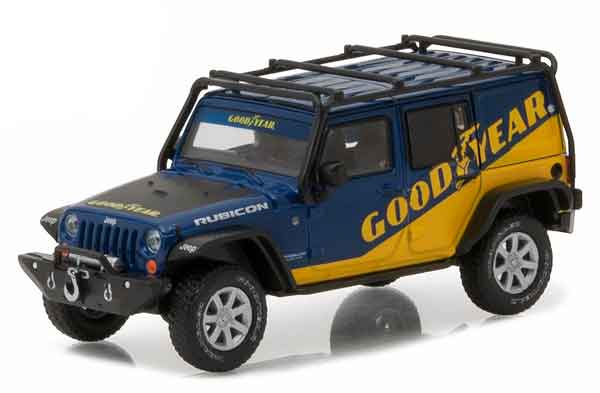 86080 - Greenlight Goodyear 2016 Jeep Wrangler Unlimited
