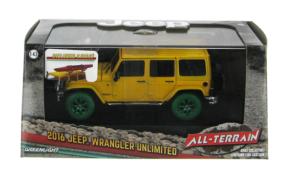 86081-SP - Greenlight 2016 Jeep Wrangler Unlimited