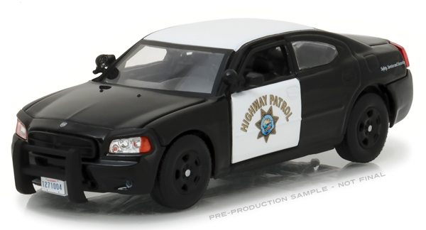 86087 - Greenlight Diecast California Highway Patrol 2008 Dodge Charger Police
