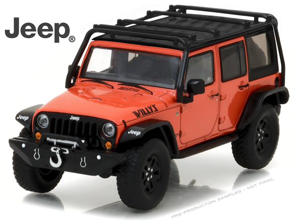 86088 - Greenlight 2015 Jeep Wrangler Unlimited Willys Wheeler