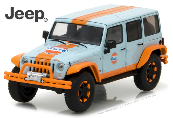 86089 - Greenlight Gulf Oil 2015 Jeep Wrangler Unlimited