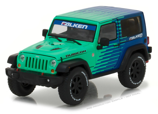 86090 - Greenlight Falken Tire 2014 Jeep Wrangler Rubicon