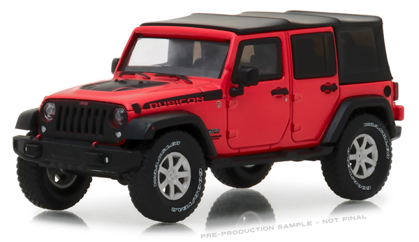 86093 - Greenlight Diecast Rubicon Recon Jeep Wrangler Unlimited Officially Licensed