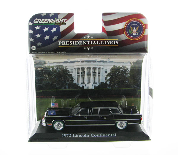 86110-B-SP - Greenlight 1972 Lincoln Continental Gerald R Ford