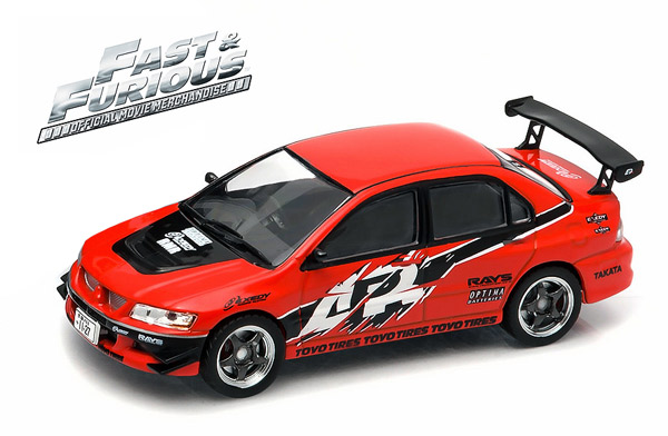 86213-CL - Greenlight Seans 2006 Mitsubishi Lancer Evolution IX