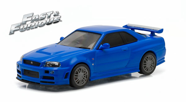 86219 - Greenlight Brians 2002 Nissan Skyline GT R