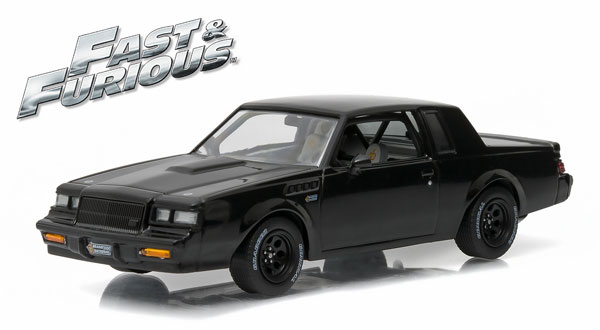 86231 - Greenlight 1987 Buick Grand National GNX Fast