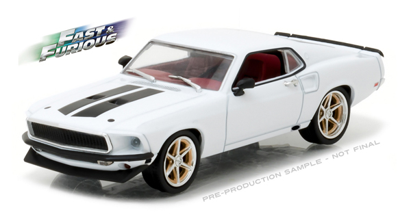 86236 - Greenlight 1969 Ford Mustang Custom Anvil Halo