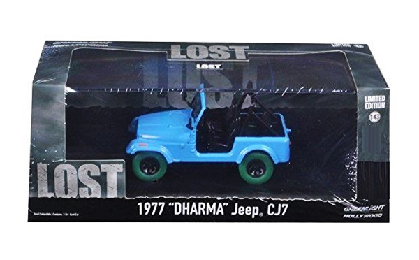 86309-SP - Greenlight Dharma 1977 CJ 7 Jeep LOST