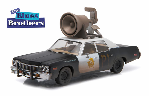 86423 - Greenlight The Bluesmobile 1975 Chicago Police Dodge