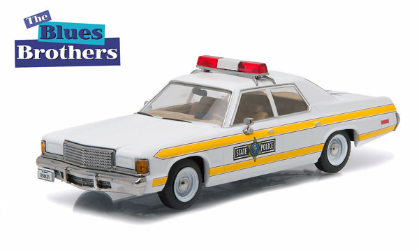 86424 - Greenlight Illinois State Police 1977 Dodge Royal