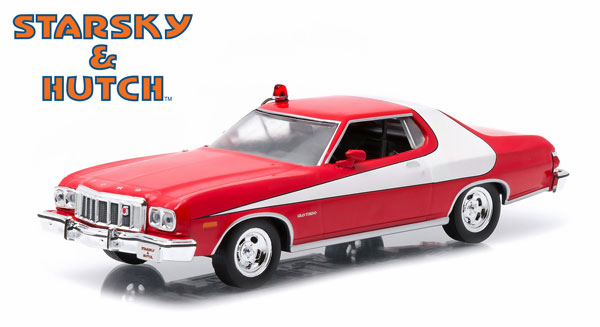 86442 - Greenlight 1976 Ford Gran Torino Starsky and