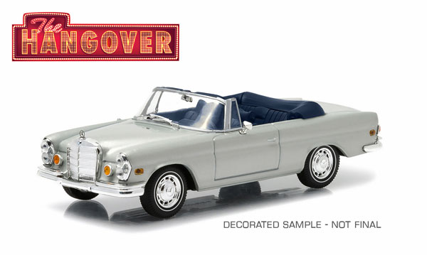 86461 - Greenlight 1969 Mercedes Benz 280 SE Convertible