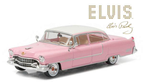 86491 - Greenlight 1955 Cadillac Fleetwood Series 60 Pink