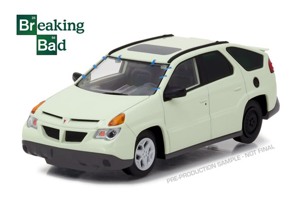 86498 - Greenlight Walter Whites 2004 Pontiac Aztek Breaking