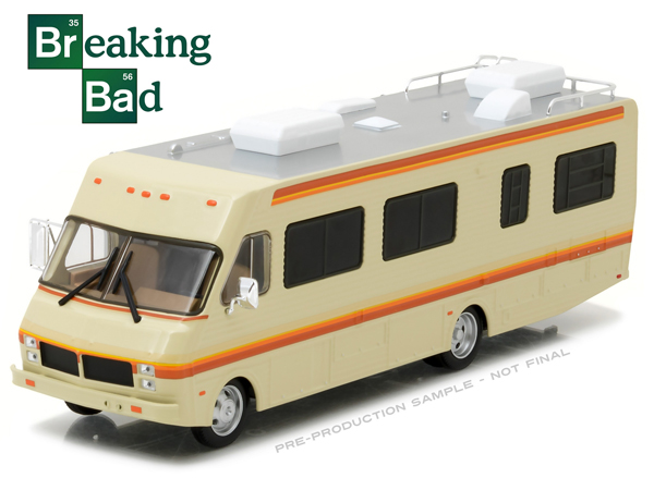 86500 - Greenlight 1986 Fleetwood Bounder RV Breaking Bad