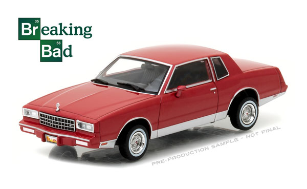 86501 - Greenlight Jesse Pinkmans 1982 Chevrolet Monte Carlo