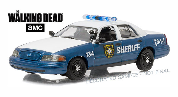 86504 - Greenlight Diecast Rick and Shanes 2001 Ford Crown Victoria