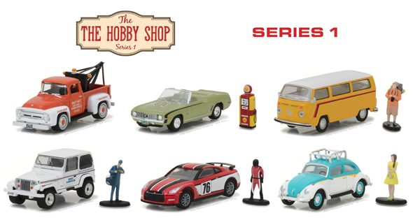 97010-MASTER - Greenlight The Hobby Shop Series 1 48