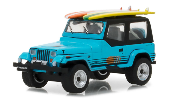 97020-C - Greenlight Diecast 1987 Jeep Wrangler YJ