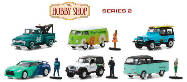 97020-CASE - Greenlight The Hobby Shop Series 2 6