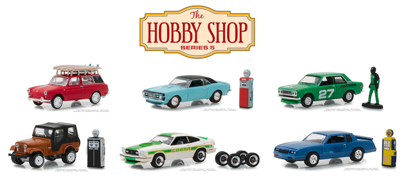 97050-CASE - Greenlight Diecast The Hobby Shop Series 5 6 Piece