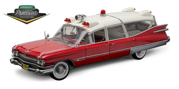 PC18001 - Greenlight 1959 Cadillac Ambulance