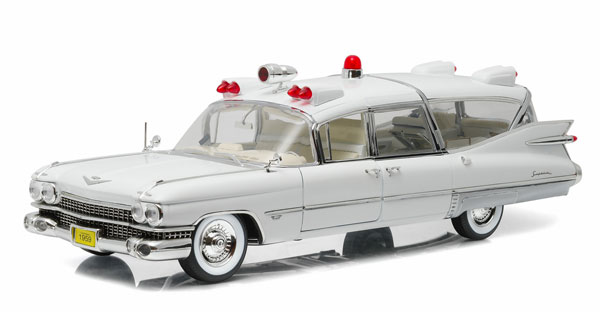PC18004 - Greenlight 1959 Cadillac Ambulance