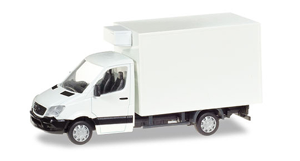 013062 - Herpa Mercedes Benz Sprinter Refrigerated Box Truck
