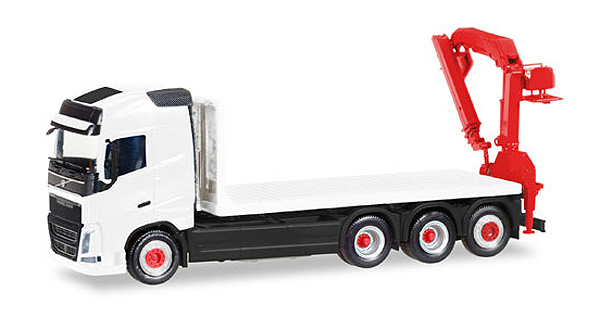 013154 - Herpa Volvo FH Flatbed Truck
