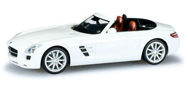 024853 - Herpa Mercedes Benz SLS AMG Roadster Convertible