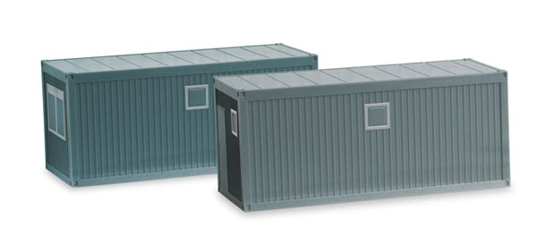 053600 - Herpa Construction Site Mobile Offices 2 Pieces