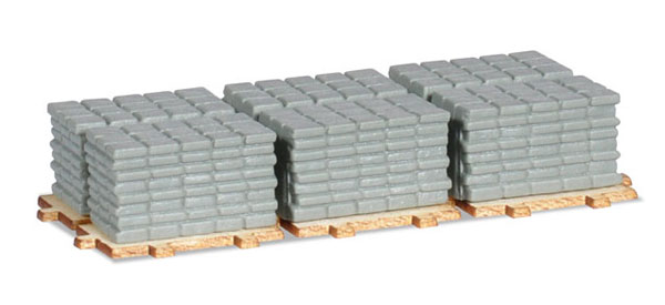 053617 - Herpa Concrete Side Walk Squares on a